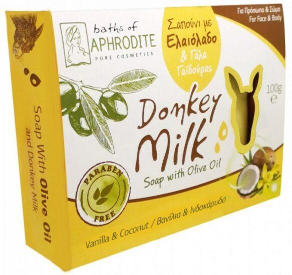 produse de ingrijire cu lapte de magarita